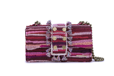 Fabric Shoulder Bag - New Yorker Fuchsia