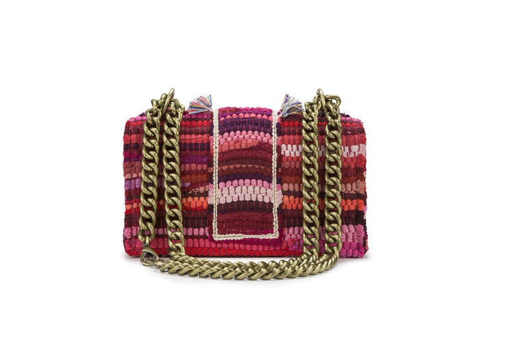 Fabric Shoulder Bag - New Yorker Soho Fuchsia