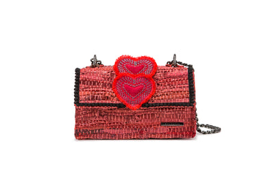 "Leather Shoulder Bag - New Yorker Soho ""Simply Love"""