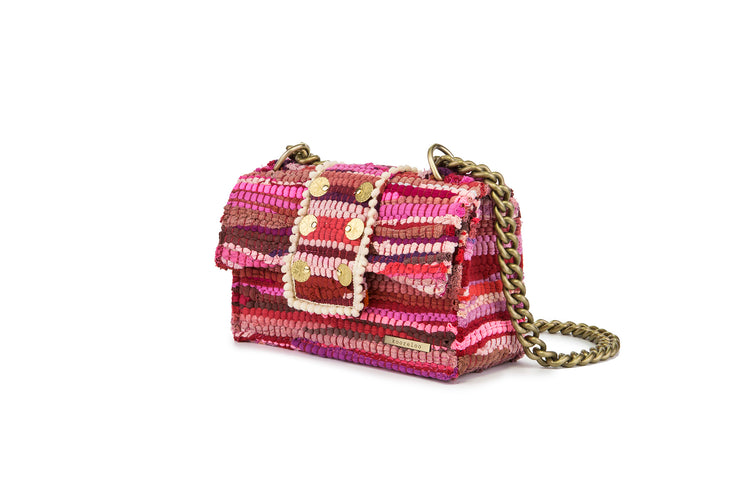 Fabric Shoulder Bag - New Yorker Soho Rose