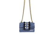 Fabric Shoulder Bag - New Yorker Soho Blue Jeans