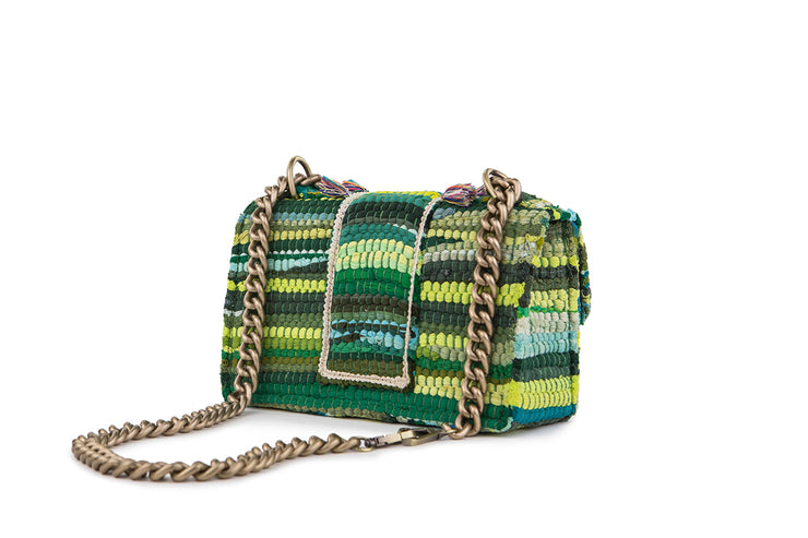 Fabric Shoulder Bag - New Yorker Soho Green