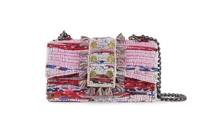 Fabric Shoulder Bag - New Yorker Multi