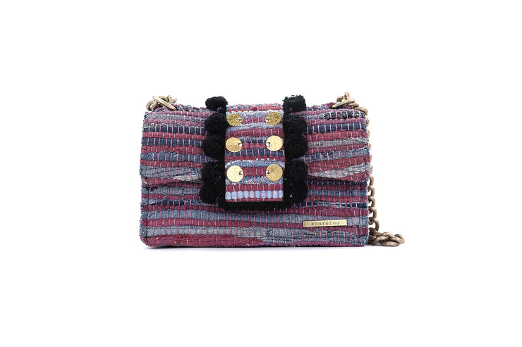 Fabric Shoulder Bag - New Yorker Soho Lilac Jeans