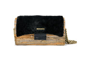 Leather Shoulder Bag Tender - New Yorker Sheepskin Black