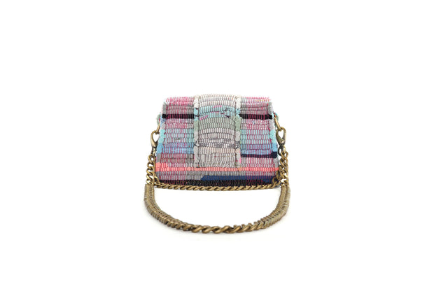 Fabric Shoulder Bag - A Line Minima Multi