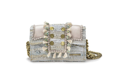 "Leather Shoulder Bag - Hollywood ""Babe"" Bridal"