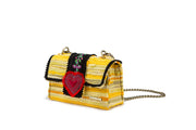 Fabric Shoulder Bag - Divine Bijoux Yellow