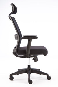 Fuse Mesh Back Chair with Head Rest