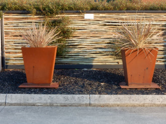 Corten Steel Planter Pot