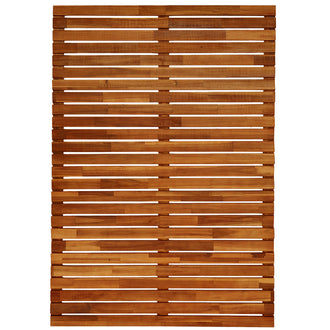Plantation Hardwood Checker Panel Screens F/J