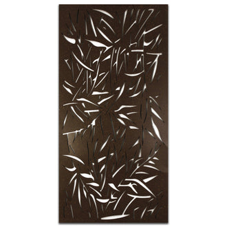 Extra Large Budget Paint Metal Screen: Jungle