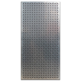 Extra Large Galvabond Metal Screen: Sazanka
