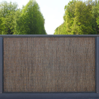 Natural Screen Fencing: 100% Blockout Brushwood
