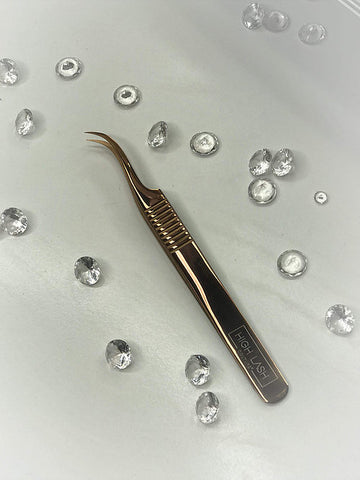 Honey - Curved Tweezers