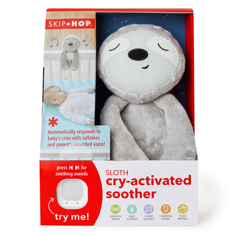 Skip Hop Cry Activated Soother - Sloth
