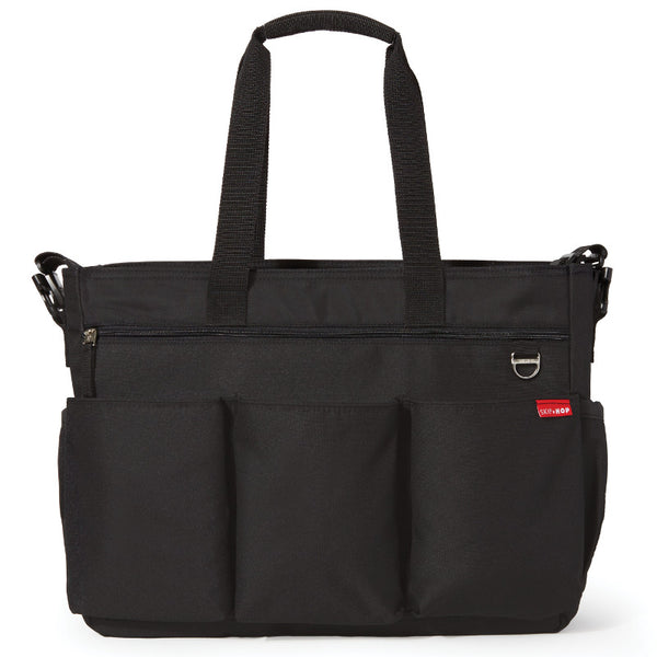 Skip Hop Duo Double Changing Bag - Black
