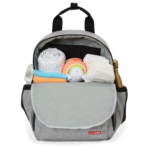 Skip Hop Duo Backpack - Grey Melange