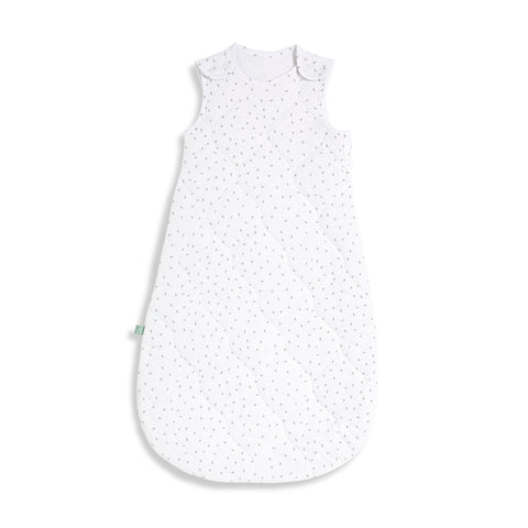 Little Green Sheep Organic Baby Sleeping Bag 2.5 Tog - White Rice