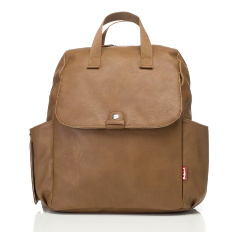 Babymel Robyn Convertible Backpack Vegan Leather - Tan