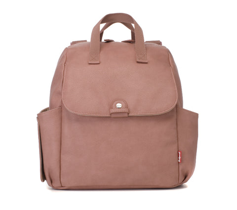 Babymel Robyn Convertible Backpack Faux Leather - Dusty Pink