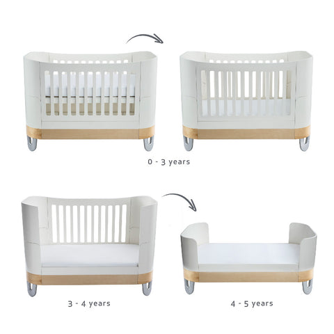 Gaia Baby Serena Complete Sleep - White/Natural