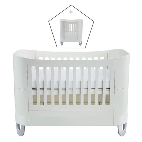 Gaia Baby Serena Complete Sleep+/Mini - White