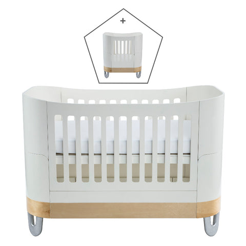 Gaia Baby Serena Complete Sleep+/Mini - White/Natural