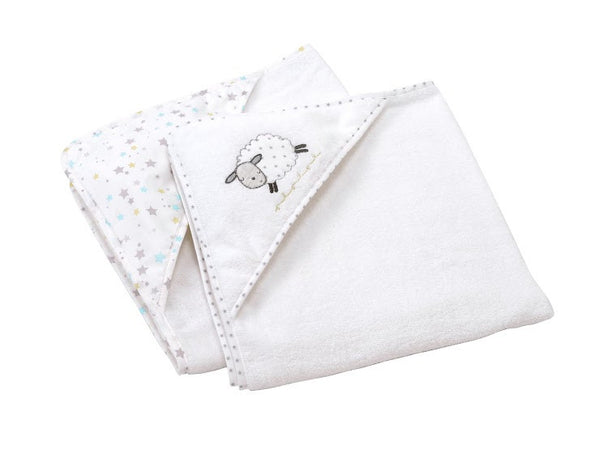 Silver Cloud Counting Sheep Set of 2 Cuddle Robes
