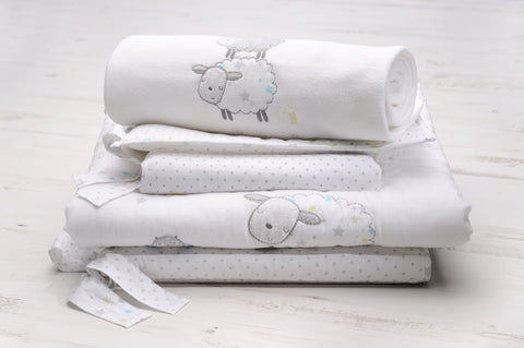 Silver Cloud Counting Sheep 3 pce bedding set