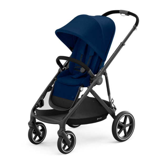 Cybex Gazelle S Package - Black Frame/Navy Blue