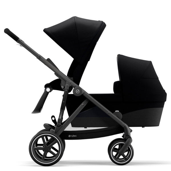 Cybex Gazelle S Toddler/Newborn Package - Black Frame/Deep Black