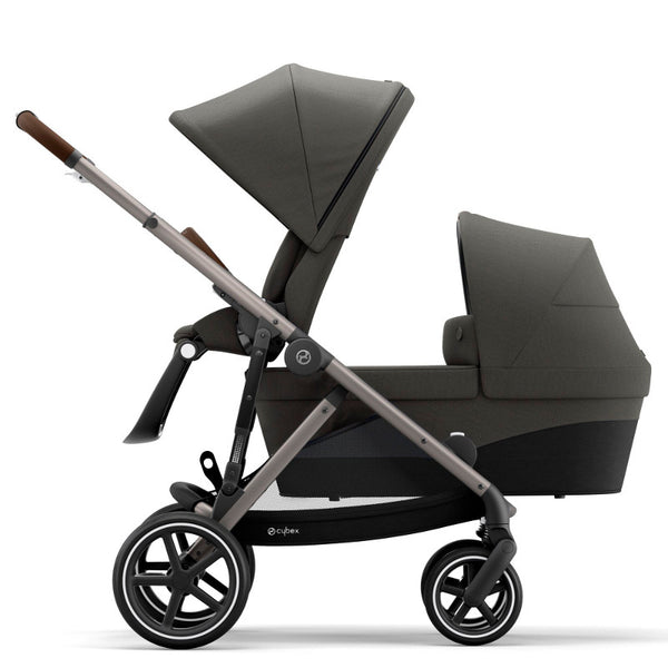 Cybex Gazelle S Toddler/Newborn Package - Taupe Frame/Soho Grey