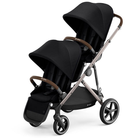 Cybex Gazelle S Toddler/Newborn Package - Taupe Frame/Deep Black