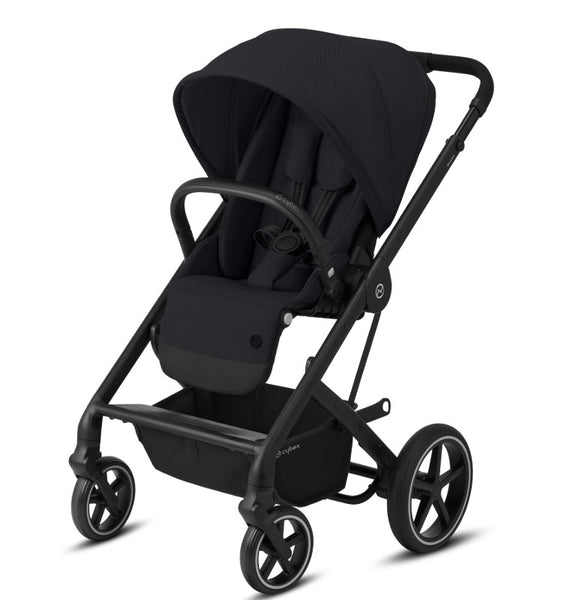 Cybex Balios S Lux Travel System Package - Black Frame/Deep Black