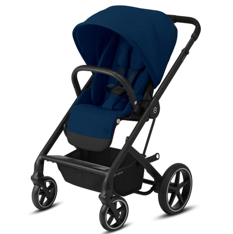 Cybex Balios S Lux Travel System Package - Black Frame/Navy Blue