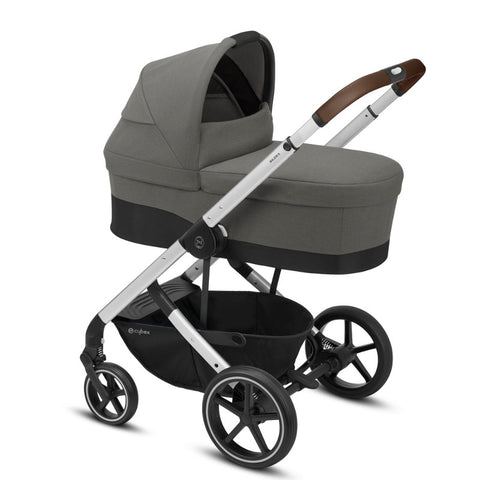 Cybex Balios S Lux Travel System Package - Silver Frame/Soho Grey