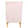 Convertable Nursing Chair - Dusty Pink