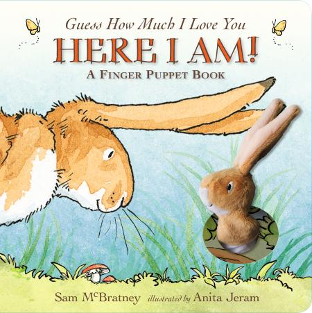 "Guess How Much I Love You ""Here I Am"" Finger Puppet Book"