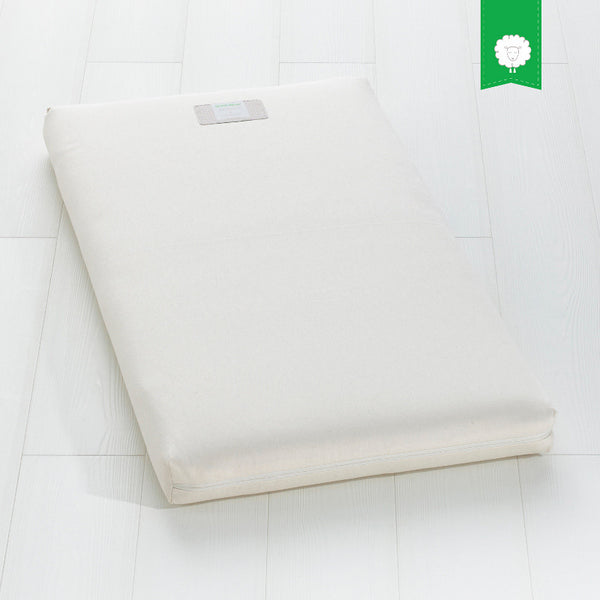 Little Green Sheep Organic Wool Cot Bed Mattress 140 x 70cm