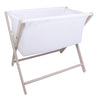 Little Chick Breathable Crib Grey c/w mattress