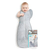 Love To Dream Swaddle UP 50/50, Grey, Medium, 6-8.5 kg
