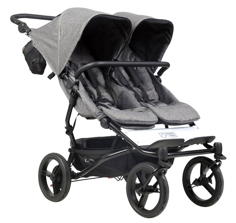 Mountain Buggy Duet Luxury Herringbone