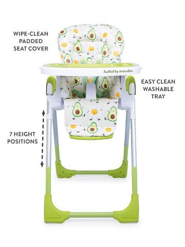 Cosatto Noodle 0+ Highchair - Strictly Avocados