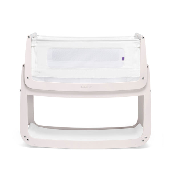 SnüzPod4 Bedside Crib - Rose White