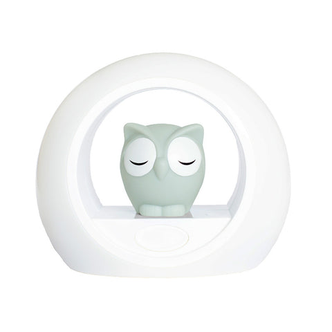 Zazu Lou The Owl Night Light - Grey