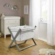 Clair de Lune Folding Breathable Crib