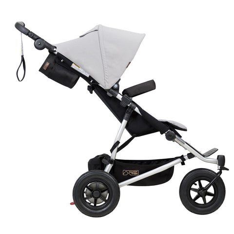 Mountain Buggy Duet - Silver