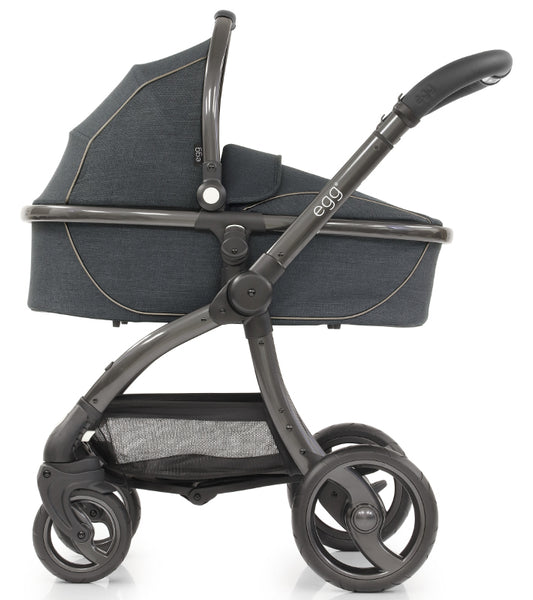 Egg Luxury Travel System - Carbon Grey