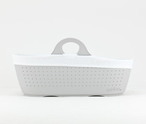 Moba Moses Basket - Dove Grey